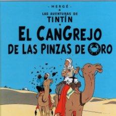 Cómics: TINTIN EL CANGREJO DE LAS PINZAS DE ORO. 26ª EDICION. AÑO 2013. Lote 279415743