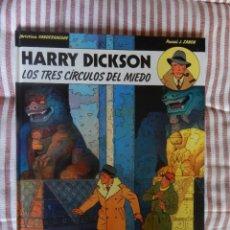 Comics : HARRY DICKSON - LOS TRES CIRCULOS DEL MIEDO - N. 3. Lote 279426253