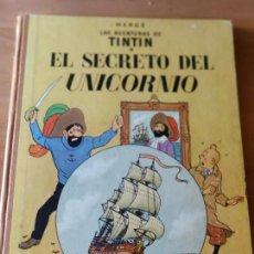 Cómics: EL SECRETO DEL UNICORNIO TINTÍN. Lote 279508268