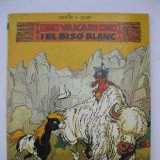 Cómics: YAKARI - Nº 2 - EL BISÓ BLANC - DERIB - JOB - EN CATALÁN - EDITORIAL JUVENTUD - AÑO 1979.. Lote 280832993