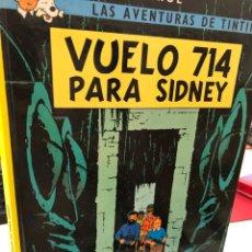 Cómics: TINTIN - VUELO 714 PARA SIDNEY - JUVENTUD 2002 HERGÉ. Lote 280969683