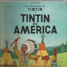 Cómics: TINTIN EN AMERICA 2ª EDICION. Lote 281865353