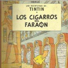 Cómics: TINTIN CIGARROS DEL FARAON 2ª EDICION. Lote 281865603