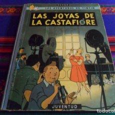 Comics : BUEN ESTADO, TINTIN LAS JOYAS DE LAS CASTAFIORE. JUVENTUD 1ª PRIMERA EDICIÓN 1964.. Lote 282189708