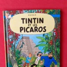 Cómics: TINTIN ET LES PICAROS HERGE CASTERMAN 2007 EN FRANCES. Lote 283080253
