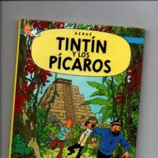 Cómics: LAS AVENTURAS DE TINTIN. TINTIN Y LOS PICAROS. CASTERMAN 2002. FORMATO PEQUEÑO 22 X 17 CMS. Lote 284784418