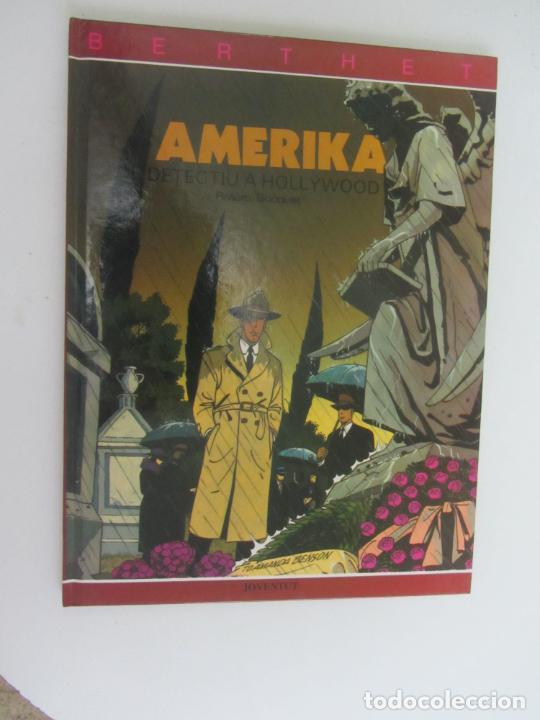 DETECTIU A HOLLYWOOD - AMERIKA - BERTHET RIVIERE BOCQUET TTAPA DURA EN CATALAN - (Tebeos y Comics - Juventud - Otros)