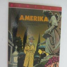 Cómics: DETECTIU A HOLLYWOOD - AMERIKA - BERTHET RIVIERE BOCQUET TTAPA DURA EN CATALAN -. Lote 285088263