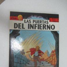 Fumetti: LEFRANC Nº 5 LAS PUERTAS DEL INFIERNO - J. MARTIN, G. CHAILLET - EDICIONES JUNIOR GRIJALBO 1987.. Lote 285088403