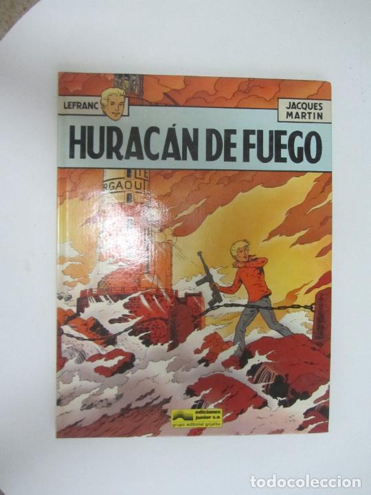LEFRANC 2 - HURACAN DE FUEGO - JACQUES MARTIN EDICIONES JUNIOR GRIJALBO (Tebeos y Comics - Juventud - Otros)