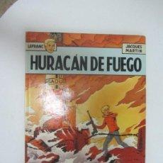 Cómics: LEFRANC 2 - HURACAN DE FUEGO - JACQUES MARTIN EDICIONES JUNIOR GRIJALBO. Lote 285088633