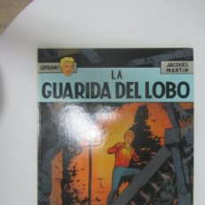 Fumetti: LEFRANC Nº 4 LA GUARIDA DEL LOBO DE JACQUES MARTIN - GRIJALBO, EDICIONES JUNIOR. Lote 285089033