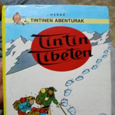 Cómics: TINTINEN ABENTURAK TINTIN TIBETEN EUSKERA 1989. Lote 285630433