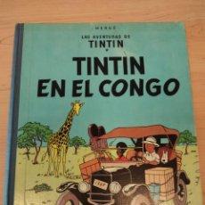 Comics : TINTIN EN EL CONGO HERGE 1ª EDICION DICIEMBRE 1968. JUVENTUD. Lote 286005533