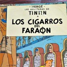 Fumetti: TINTÍN . LOS CIGARROS DEL FARAÓN. Lote 286342988