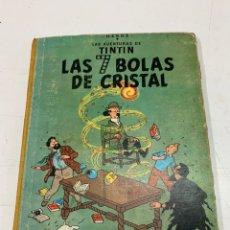 Comics : LAS AVENTURAS DE TINTÍN. LAS 7 BOLAS DE CRISTAL. HERGÉ. 1A EDICIÓN. EDITORIAL JUVENTUD BARCELONA1961. Lote 286471928
