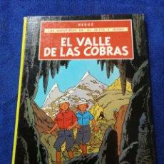 Comics : LAS AVENTURAS DE JE, ZETTE Y JOCKO. EL VALLE DE LAS COBRAS. HERGE. JUVENTUD. Lote 286543353