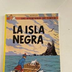 Comics: LAS AVENTURAS DE TINTÍN LA ISLA NEGRA. Lote 287083913