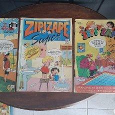 Cómics: LOTE DE TRES COMICS DE ZIP Y ZAPE. Lote 287262853