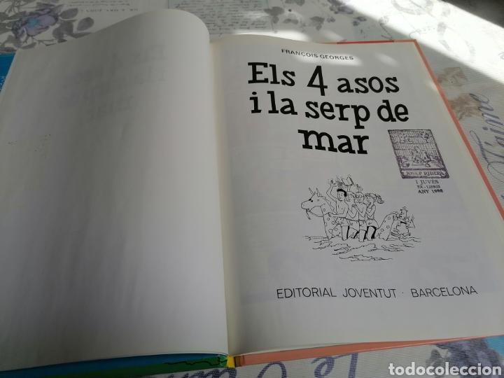 Cómics: ELS 4 ASOS I LA SERP DE MAR EDITORIAL JOVENTUT EN CATALÀ - Foto 3 - 287493283