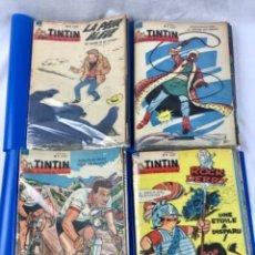 Cómics: LOTE DE 52 NÚMEROS TINTÍN LE JOURNAL DES JEUNES. AÑO 1961 COMPLETO FRANCES.. Lote 287626003