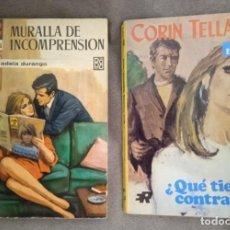 Cómics: LOTE DE 2 NOVELAS DE PUBLICACIÓN FEMENINA AÑOS 60. Lote 287634533