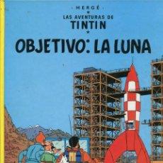 Cómics: TINTIN. OBJETIVO: LA LUNA. ED. JUDENTUD 1997. 18º EDICIÓN. PERFECTO ESTADO. Lote 287822238