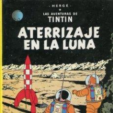Cómics: TINTIN. ATERRIZAJE EN LA LUNA. ED. JUVENTUD 1995. 17ª EDICIÓN. BUENO. Lote 287822358
