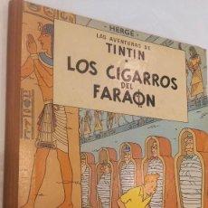Comics : TINTIN. LOS CIGARROS DEL FARAÓN. ED. JUVENTUD.3ª EDICIÓN 1968. BIEN CONSERVADO. VER FOTOS. Lote 287894828