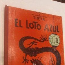 Comics : TINTIN. EL LOTO AZUL. ED. JUVENTUD.3ª EDICIÓN 1970. BIEN CONSERVADO. VER FOTOS. Lote 287895043