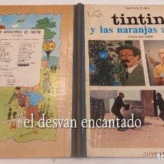 Cómics: TINTIN. Y LAS NARANJAS AZULES. 1ª EDICIÓN 1970. BUEN ESTADO CON RECORTE EN HOJA DE GUARDA. VER FOTOS. Lote 287896553
