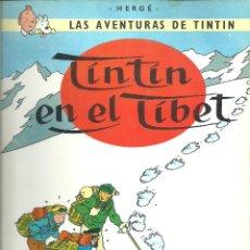 Cómics: TINTIN - EN EL TIBET. Lote 288134133