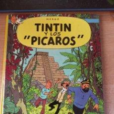 Cómics: TINTÍN Y LOS 'PÍCAROS' - HERGÉ - 1ª EDICIÓN 1976. Lote 288339408
