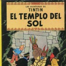 Cómics: TINTIN . EL TEMPLO DEL SOL. ED. JUVENTUD 14 ED. 1996. BUENO. Lote 288602273