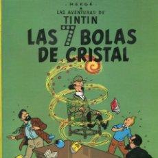 Cómics: TINTIN. LAS SIETE BOLAS DE CRISTAL. ED. JUNVENTUD. 18 ED. 1999. Lote 288602403