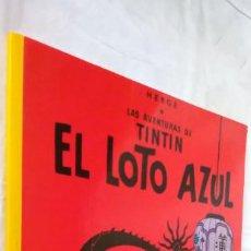 Cómics: EL LOTO AZUL. LAS AVENTURAS DE TINTÍN. ED. JUVENTUD, 2003. 22ª EDICIÓN.. Lote 288704328