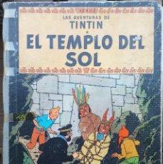 Cómics: HERGÉ LAS AVENTURAS DE TINTIN - EL TEMPLO DEL SOL - 1ER EDICIÓN 1961 EN CASTELLANO. Lote 288907108