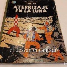 Cómics: TINTIN. ATERRIZAJE EN LA LUNA. ED. JUVENTUD. 5ª 1970. Lote 288982688