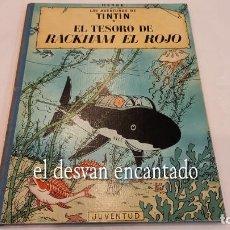 Cómics: TINTIN. EL TESORO DE RACKHAM EL ROJO. ED. JUVENTUD. 4ª 1971. Lote 288982868