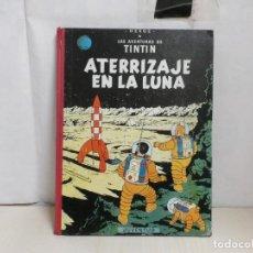 Fumetti: TINTIN -ATERRIZAJE EN LA LUNA -JUVENTUD-SEGUNDA EDICION -JULIO 1964-LOMO ROPA COLOR ROJO-CASTELLANO-. Lote 289205828
