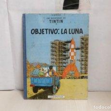 Fumetti: TINTIN -OBJETIVO LA LUNA --JUVENTUD-SEGUNDA EDICION-ABRIL 1964--CASTELLANO--LOMO ROPA COLOR AZUL. Lote 289206043