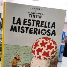 Cómics: LA ESTRELLA MISTERIOSA - TINTIN - TAPA DURA - 1989. Lote 289453793