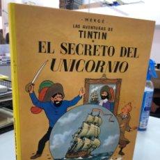 Cómics: EL SECRETO DEL UNICORNIO - TINTIN - HERGE - JUVENTUD - 1990 TAPA DURA. Lote 289453968