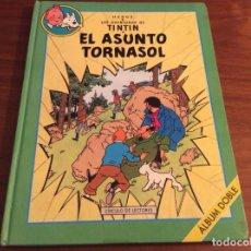 Cómics: TINTIN, ÁLBUM DOBLE : EL ASUNTO TORNASOL + STOCK DE COKE, HERGÉ, EDITORIAL CIRCULO, AÑO 1993. Lote 289487473