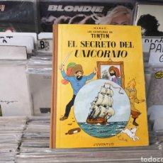 Cómics: TINTÍN SECRETO DEL UNICORNIO, HERGÉ 3 EDICIÓN 1965. Lote 289551448