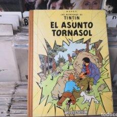 Cómics: TINTÍN, EL ASUNTO TORNASOL, HERGÉ, 2 EDICIÓN 1965. Lote 289552433