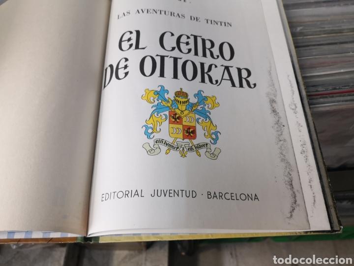 Cómics: Tintín, el cetro de ottokar, 2 edición 1964 - Foto 6 - 289553288