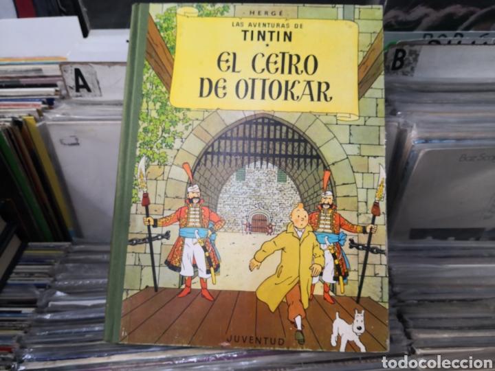 TINTÍN, EL CETRO DE OTTOKAR, 2 EDICIÓN 1964 (Tebeos y Comics - Juventud - Tintín)