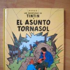 Cómics: LAS AVENTURAS DE TINTIN EL ASUNTO TORNASOL JUVENTUD 24ª EDICIÓN 2008. Lote 289578198