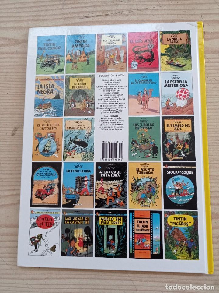 Cómics: Tintin Y El Lago De Los Tiburones - 2000 - Juventud - Tapa Dura - Foto 4 - 289587813